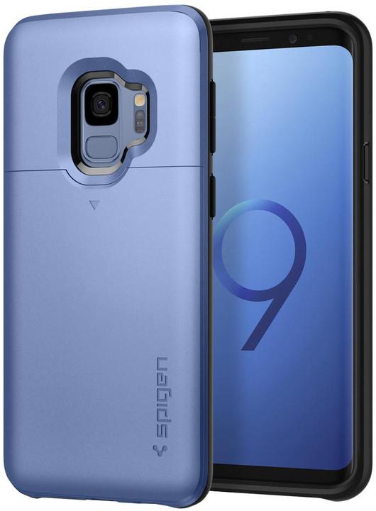 Spigen Slim Armor CS pro Samsung Galaxy S9, coral blue