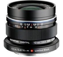 Olympus EW-M1220 12mm F2.0, černá - V311020BE001