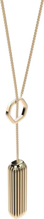 Fitbit Flex 2 Accessory Pendant (Metal neckless), zlatá