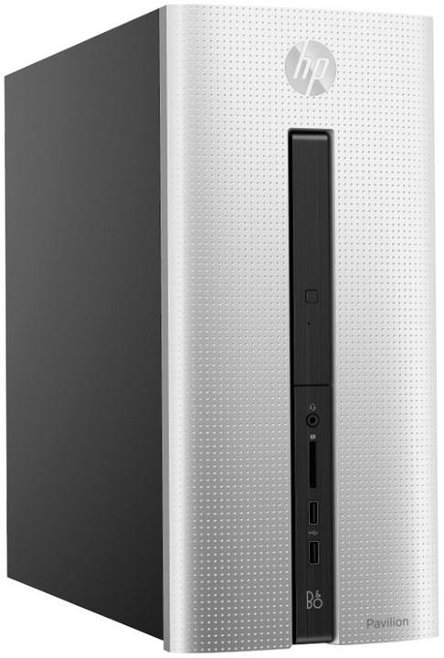 HP Pavilion 560-p051nc, stříbrná