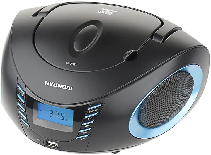 Hyundai TRC 182, modrá