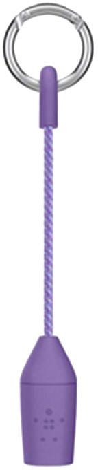 Belkin Lightning USB dobíjecí kabel v klíčence - fialová