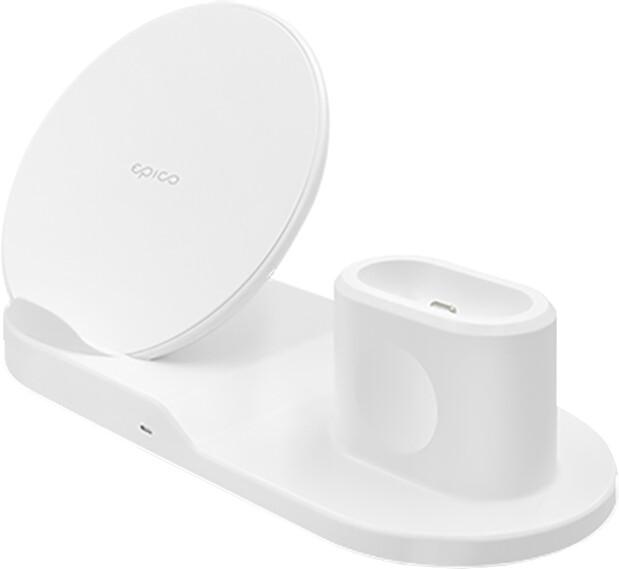 EPICO CHARGING BASE - bílá + 18W charger v hodnotě 1 590 Kč