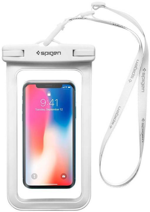 Spigen Velo A600 Waterproof Phone Case, bílá