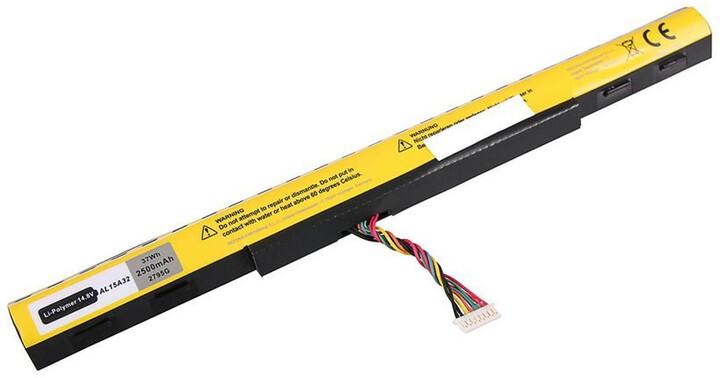 Patona baterie pro ntb Acer Aspire E5-422 2500mAh Li-pol 14,8V