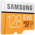Samsung Micro SDXC 128GB EVO UHS-I U3 + SD adaptér