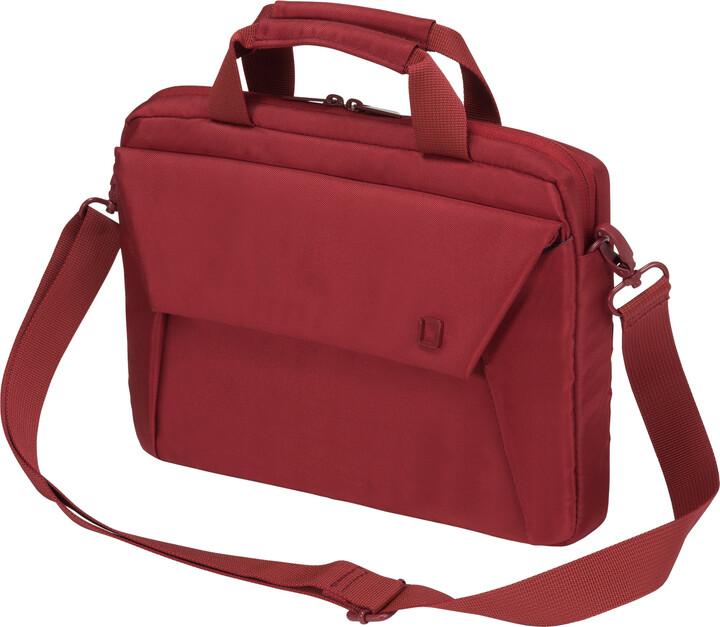 """DICOTA Slim Case EDGE - Brašna na notebook - 13.3"""" - červená"""