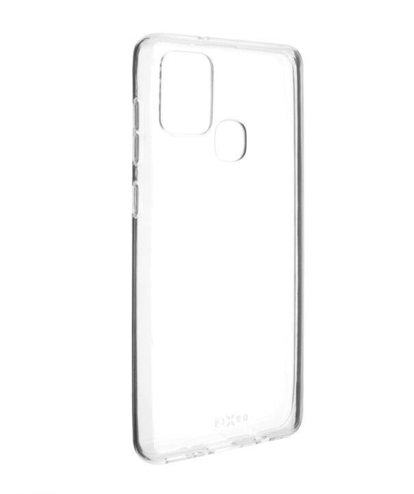 FIXED TPU gelové pouzdro pro Samsung Galaxy A21s, čirá