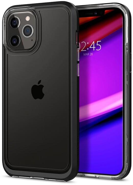 Spigen ochranný kryt Neo Hybrid Crystal pro iPhone 12/12 Pro, černá
