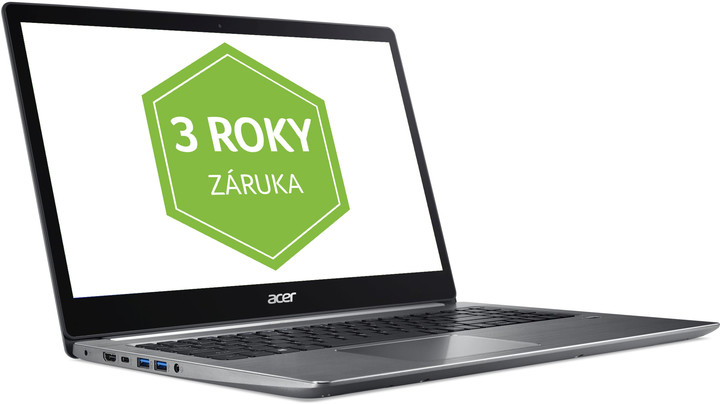 Acer Swift 3 (SF315-41-R5QE), šedá