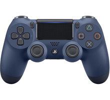 Sony PS4 DualShock 4 v2, tmavě modrý - PS719874263