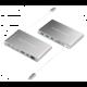 HyperDrive Ultimate USB-C Hub, stříbrná