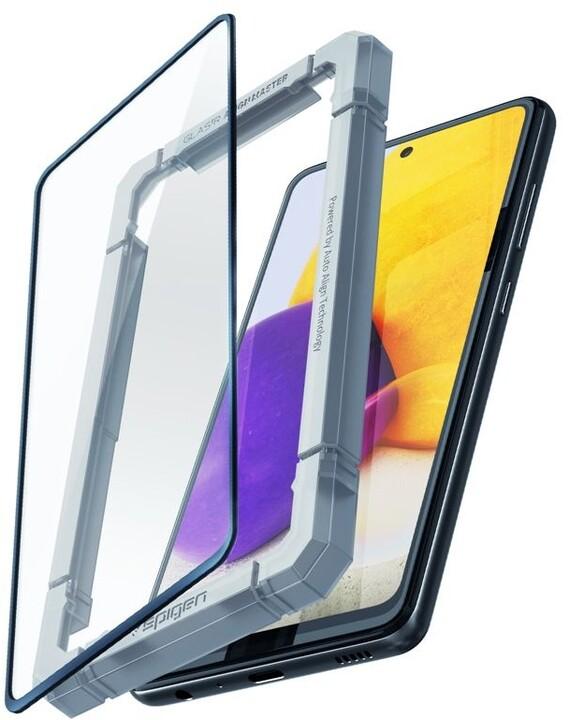 Spigen ochranné sklo AlignMaster FC pro Samsung Galaxy A52/A52 (5G), černá
