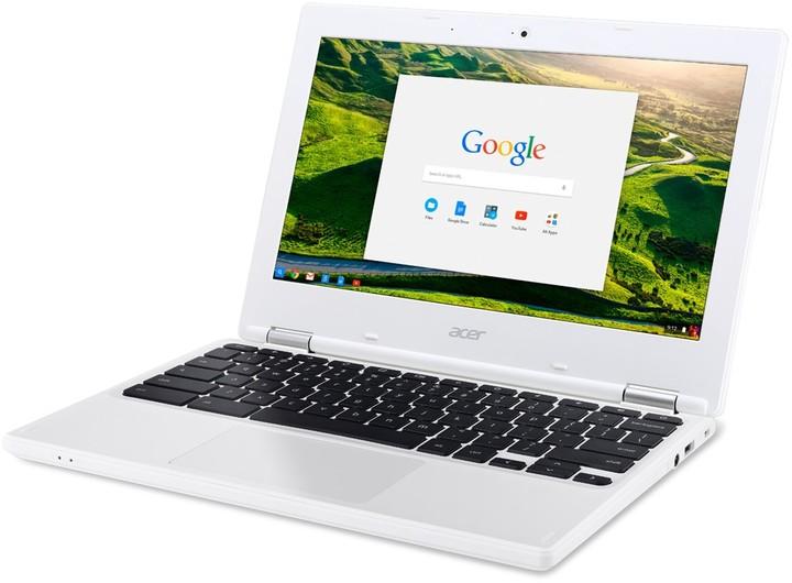 Acer Chromebook 11 (CB3-132-C3XJ), bílá