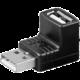PremiumCord USB redukce A-A, Male/Female 90°