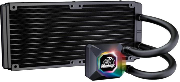 Akasa Venom R20 RGB, vodní chlazení CPU
