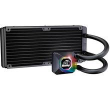 Akasa Venom R20 RGB, vodní chlazení CPU AK-LC4002HS03