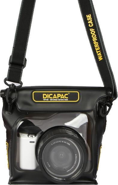 DiCAPac WP-S3 pouzdro pro hybridní digitální fotoaparáty (bezzrcadlovky) se zoomem