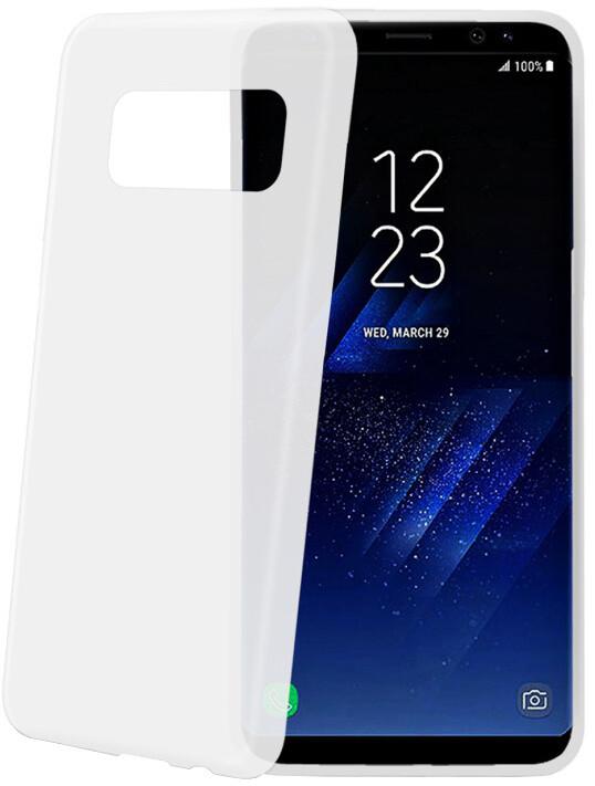 CELLY Frost ultra tenké TPU pouzdro pro Samsung Galaxy S8, 0,29 mm, bílé