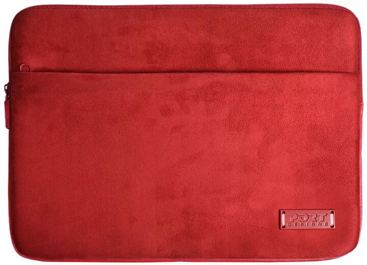 """Port Designs MILANO pouzdro na 11/12"""", červená"""