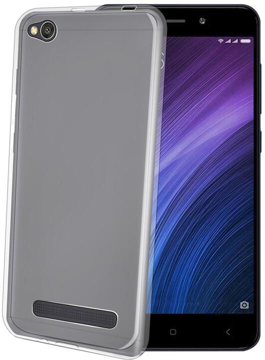 CELLY Gelskin TPU pouzdro pro Xiaomi Redmi 4A, bezbarvé