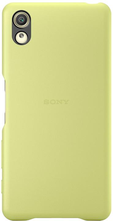 Sony SBC30 Style Back Cover Xperia XP, limetková/zlatá