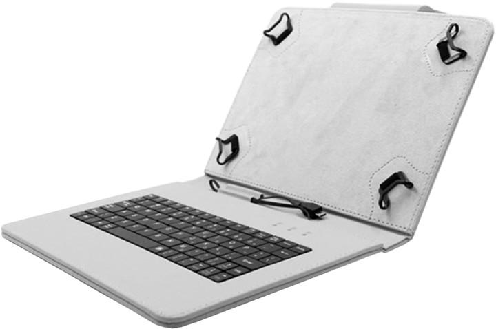 """C-TECH PROTECT NUTKC-03, pouzdro s klávesnicí pro 9"""", šedá"""