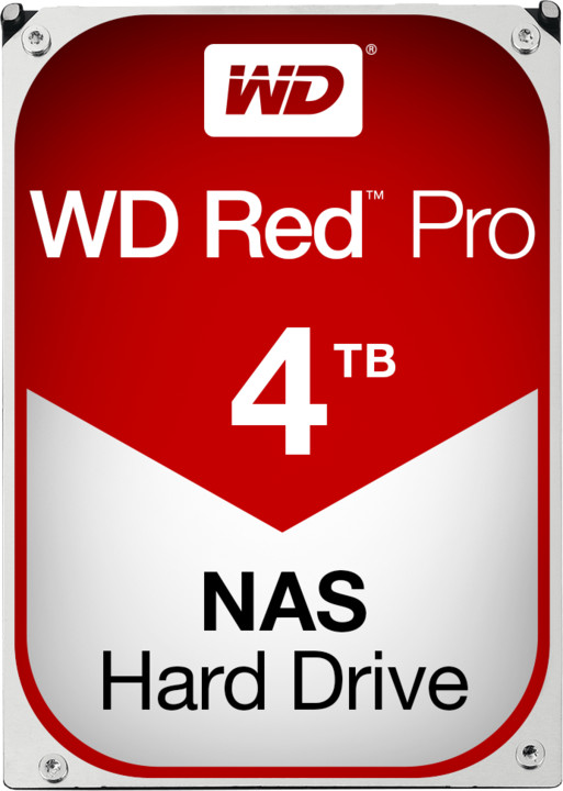 WD Red Pro (FFSX) - 4TB