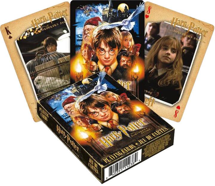Herní karty Harry Potter - Kámen mudrců
