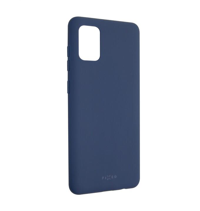 FIXED Story zadní pogumovaný kryt pro Samsung Galaxy A31, modrá