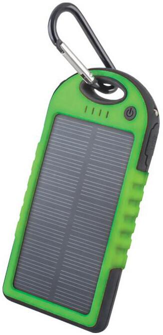 Forever PB-016 5 000 mAh, solární, zelená