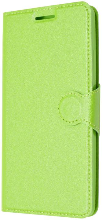 FIXED flipové pouzdro pro Lenovo A6000, zelená