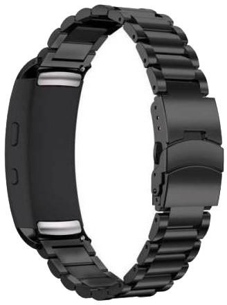 ESES kovový řemínek pro Samsung Gear Fit 2, černá