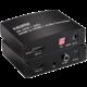 PremiumCord HDMI2.0 Repeater/Extender 4Kx2K@60Hz s oddělením audia, stereo jack, Toslink, RCA