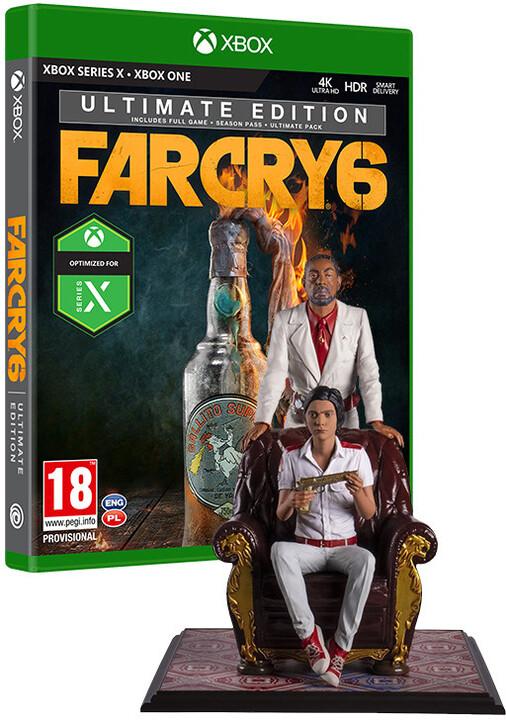 Far Cry 6 - Ultimate Edition + figurka Anton & Diego (Xbox)