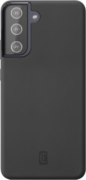 Cellularline silikonový kryt Sensation pro Samsung Galaxy S21+, černá