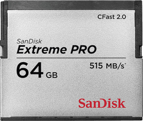 SanDisk CompactFlash Extreme Pro 64GB 515MB/s
