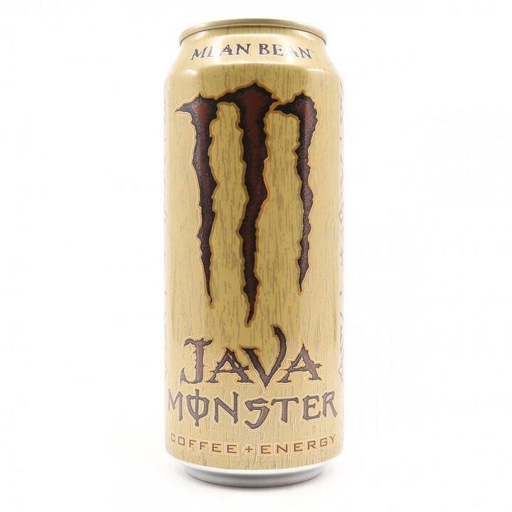 Monster Java Mean Bean, energetický, latté, 443 ml