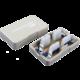 Solarix Spojovací box CAT6 UTP 8p8c LSA+/Krone KRJ45-VEB6