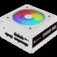 Corsair CX550F RGB - 550W, bílý