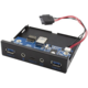 """i-tec přední panel do 3.5"""" pozice PC / USB-C / USB 3.0 / audio"""