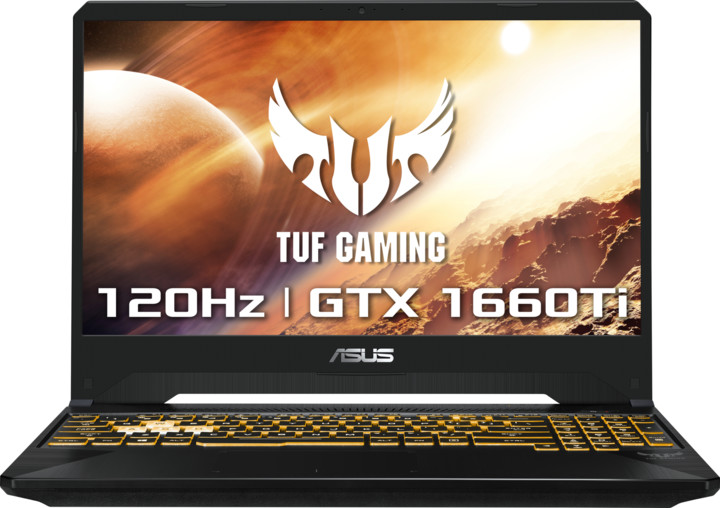 ASUS TUF Gaming FX505DU, černá