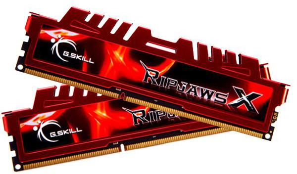 G.SKill RipjawsX 8GB (2x4GB) DDR3 2133 CL9