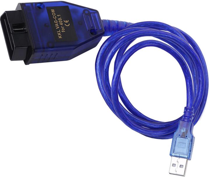 Diagnostický kabel Mobilly USB VAG OBD-II