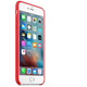 Apple iPhone 6S Plus Leather Case, RED