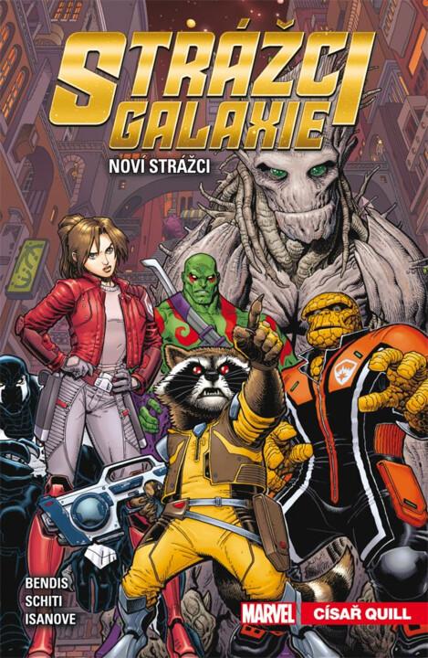 Komiks Strážci galaxie - Noví Strážci: Císař Quill