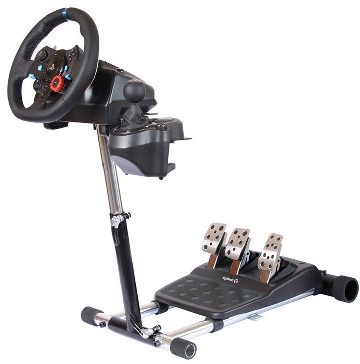 Wheel Stand Pro for Logitech G923/G29/G920/G27/G25 Racing Wheel - DELUXE V2