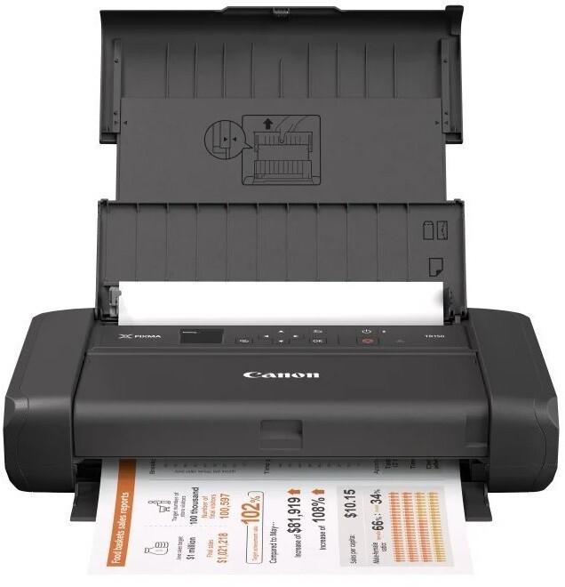 Canon PIXMA TR150 s baterií, černá