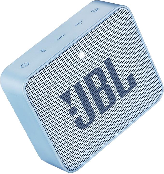 JBL GO2, světle modrá