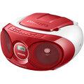 Philips AZ215, červená